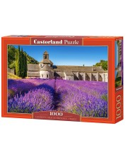 Puzzle Castorland de 1000 piese - Camp de lavanda in Franta