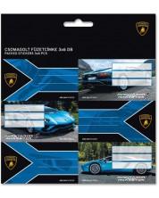 Set etichete scolare Ars Una - Lamborghini, 18 bucati -1