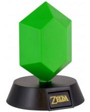 Lampa Paladone Games: The Legend of Zelda - Green Rupee, 10 cm