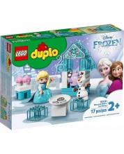 Constructor Lego Duplo Princess - Elsa si Olaf la Petrecere (10920)