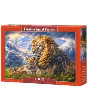 Puzzle Castorland de 1000 piese - Tata si fiu, Avbraham Hunter