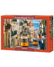 Puzzle Castorland de 1000 piese - Tramvaiele in Lisabona, Portugalia