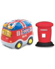 Jucarie pentru copii Vtech - Autobuz londonez, cu lumini si sunet -1