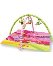 Salteluta pentru gimnastica bebelusului  Lorelli - Basme, roz -1