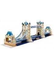 Puzzle 3D Cubic Fun de 120 piese - Tower Bridge, London