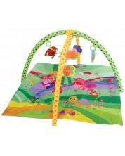 Salteluta pentru gimnastica bebelusului Lorelli - Verde -1