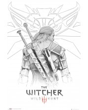 Poster maxi GB eye - The Witcher: Geralt