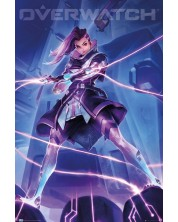 Poster maxi GB eye Games: Overwatch - Sombra