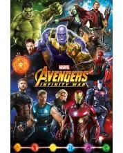 Poster maxi Pyramid - Avengers: Infinity War (Characters)