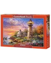 Puzzle Castorland de 1500 piese - Gardian impunator , Niki Boehme