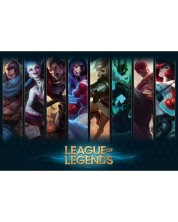 Maxi poster ABYstyle Games: League of Legends - Champions
