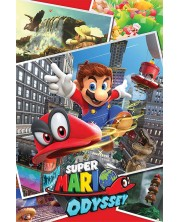 Poster maxi Pyramid - Super Mario Odyssey (Collage)