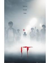 Poster maxi GB eye Movies: IT - Key Art