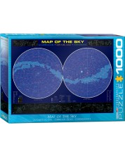 Puzzle Eurographics de 1000 piese - Harta cerului