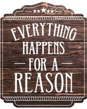 Magnet frigider Gespaensterwald - Everything happens for reason -1