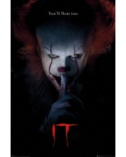 Poster maxi Pyramid - IT (Pennywise Hush)