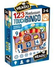 Joc amuzant Headu Montessori - Piata mica, joc de bingo -1