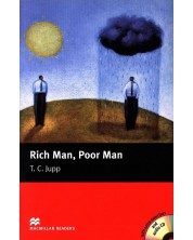 Macmillan Readers: Rich Man, Poor Man + CD (ниво Beginner)