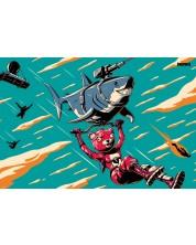 Poster maxi GB Eye Fortnite - Laser Shark