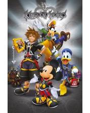 Poster maxi Pyramid - Kingdom Hearts (Classic)