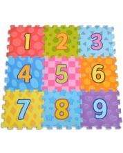 Puzzle pardoseala din spuma moale pentru copii Moni - Number, 9 piese -1