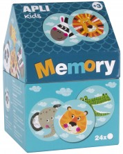 Joc de memorie APLI Kids - Animale in casuta -1