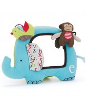 Jucarie moale Skip Hop - Elefantel, cu oglinda -1