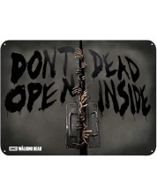 Poster metalic ABYstyle Television: The Walking Dead - Zombies