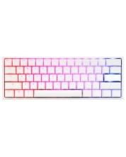 Tastatura mecanica Ducky - One 2 Mini, Linear, RGB, alba