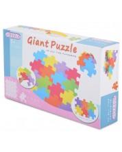 Covoras puzzle moale Moni - Culori, 16 piese -1