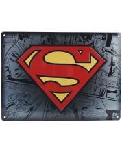 Poster metalic  ABYstyle DC Comics: Superman - Logo