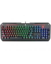Tastatura mecanica Redragon Varuna RGB cu cu iluminare din spare, neagra