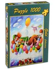 Puzzle Gold Puzzle de 1000 piese - Visul clovnului