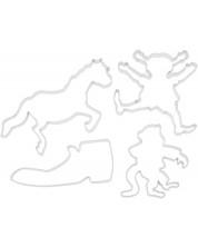 Forme metalice pentru prajituri Pippi  - Pippi Longstocking -1