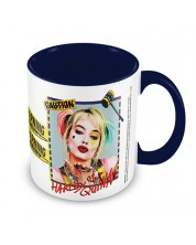 Cana Pyramid DC Comics: Harley Quinn - Warning (Blue)