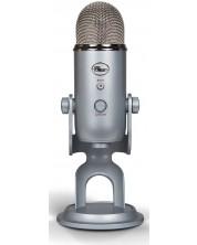 Microfon Blue - Yeti, argintiu