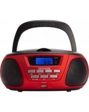 Mini sistem audio Aiwa - BBTU-300RD, rosu