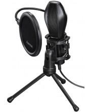 Microfon Hama - Stream, negru