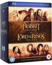 Middle Earth - Six Film Theatrical Version (Blu-Ray)
