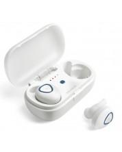 Casti Microlab Trekker 200 - albe, Wireless