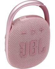 Mini boxa JBL - CLIP 4, roz