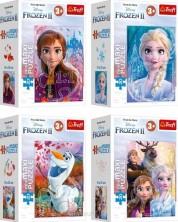 Mini puzzle Trefl de 20 maxi piese - Friendship in the Frozen Land, sortiment