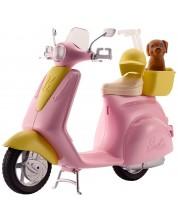 Set de joc Mattel Barbie - Moped cu catel