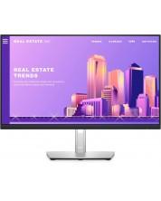 "Monitor Dell - P2422H, 23.8"", FHD, IPS, Anti-Glare, USB Hub, negru -1"