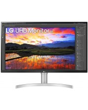 "Monitor LG - 32UN650-W, 31.5"", UHD, LED IPS, Anti-Glare, negru -1"