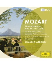 Mozart: Piano Concertos Nos.14, 17, 21 & 26 (2 CD)