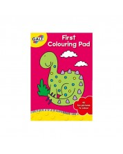 Prima mea carte de colorat Galt First Colouring Pad	 -1
