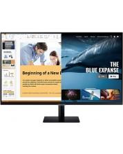 """Monitor Samsung - 32AM700, 31.5"""", 4K, VA, Anti-Glare, USB Hub -1"""