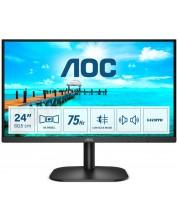 """Monitor  AOC - B2 24B2XDAM, 23.8"""", FHD, VA WLED, Anti-Glare, negru -1"""