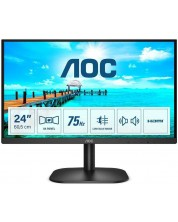 "Monitor AOC - B2 24B2XHM2, 23.8"", FHD, VA WLED, Anti-Glare, negru -1"